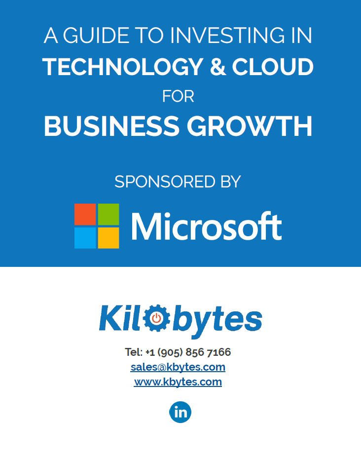 investing in technology and cloud